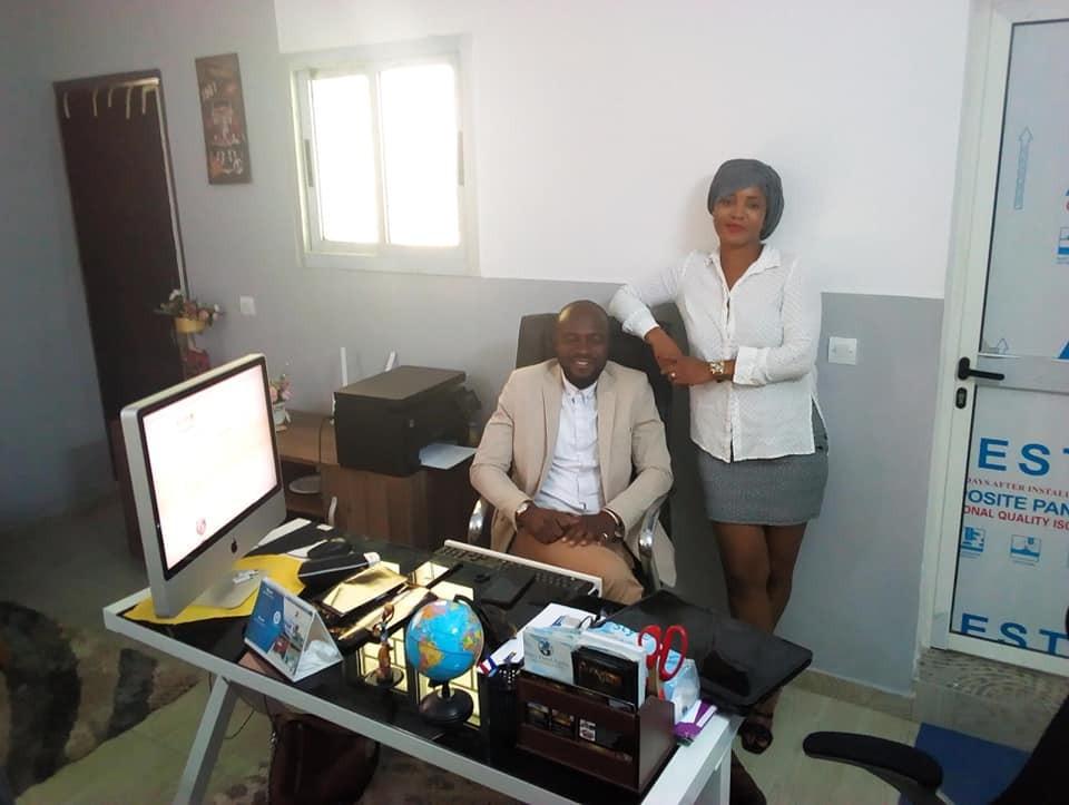 28 décembre 2020 / Réunion de travail au siège de la société KAPAGROP-SARL en présence du Directeur Général Mr Karaboue Abdoulay et de la Directrice Md Edopsie Pagne. J'ai procédé à la remise des titres et à la livraison officiel du site internet https://kapagrop.com<br /><br />#ABIDJAN - #WEBSITE - #ANIMATION #web #design #ebusiness #branding #marketing #hebergement #referencement #cotedivoire #afrique #style #motivation #inspiration #aimer #partager